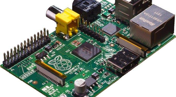 Raspberry Pi Modelo B por 35 € smart TV, servidor torrent…