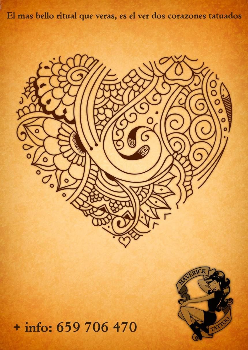 tatuaje corazón