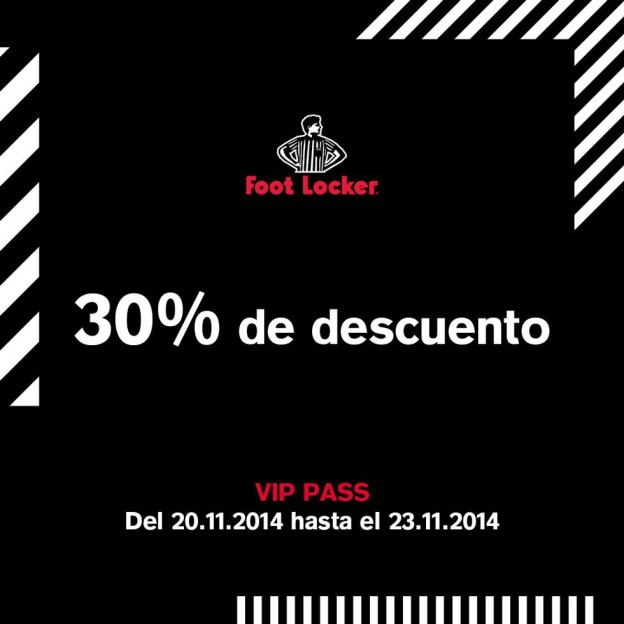 foot locker chollo descuento