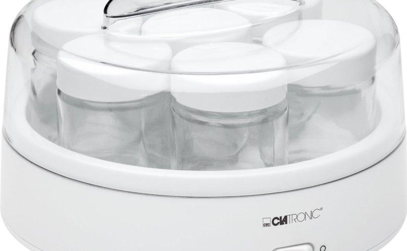 Otro chollo para cocineros, yogurtera Clatronic por 15,90 €