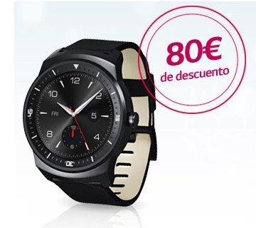 Chollo smartwatch LG G watch R por 199 €