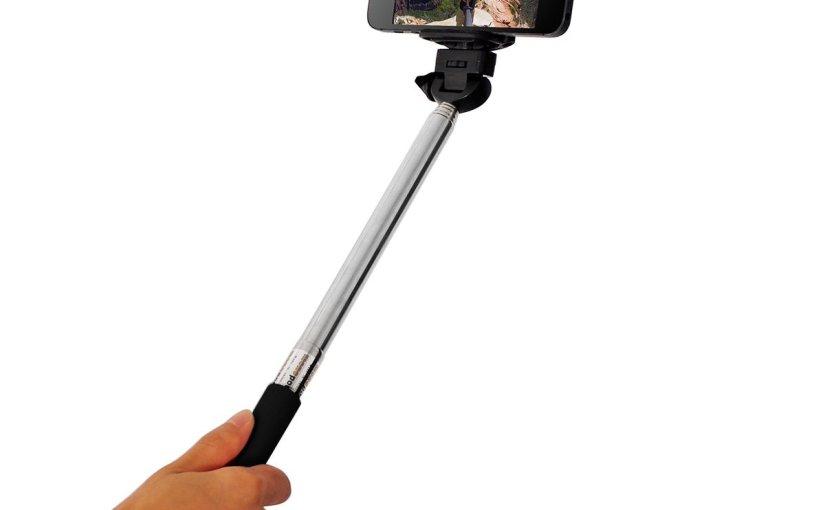 Y aquí está, el gadget de moda, el palo para tu móvil