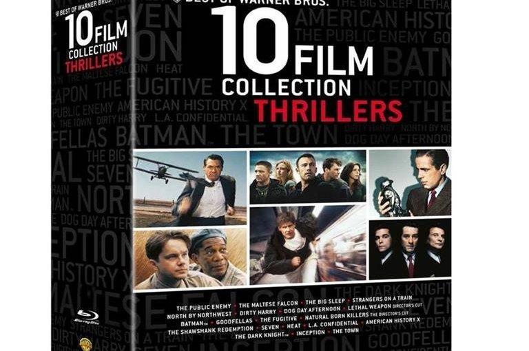 Chollazo! Pack de 10 películas Warner Bros por 18,92 € en Blu-ray o DVD