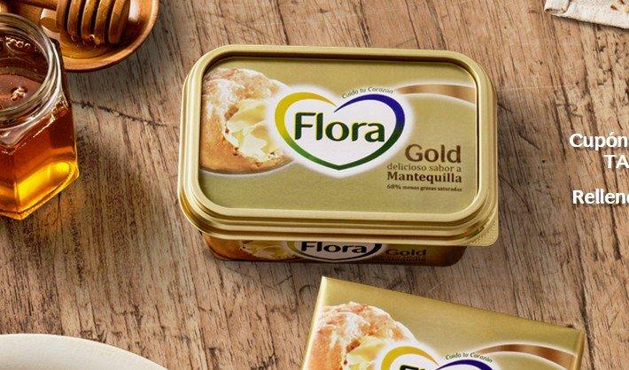 Chollazo! mantequilla flora gratis!