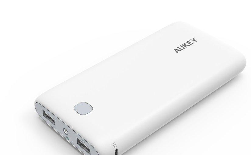 Batería Externa Aukey 20000mAh