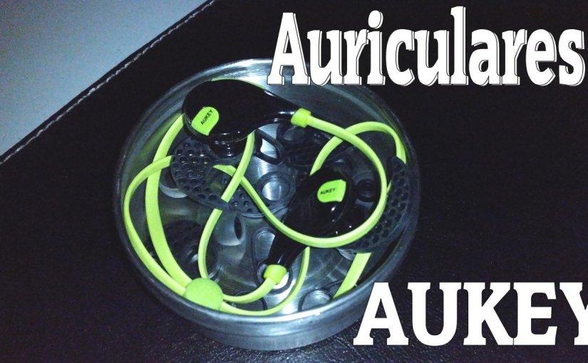 Auriculares deportivos estéreo Bluetooth – AUKEY