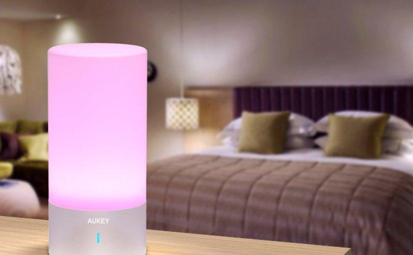 Review lámpara LED multicolor AUKEY