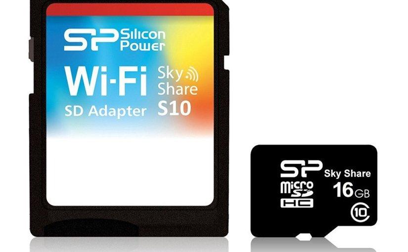 Chollazo! tarjeta microSD WIFI de 43 € a 19 €