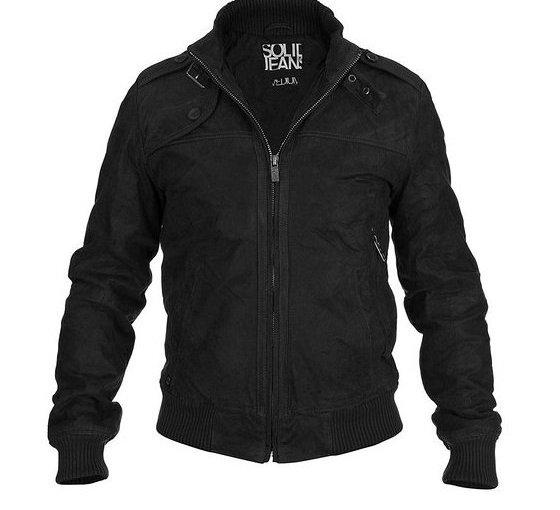 Chollo chaqueta de cuero para hombre por 99 €