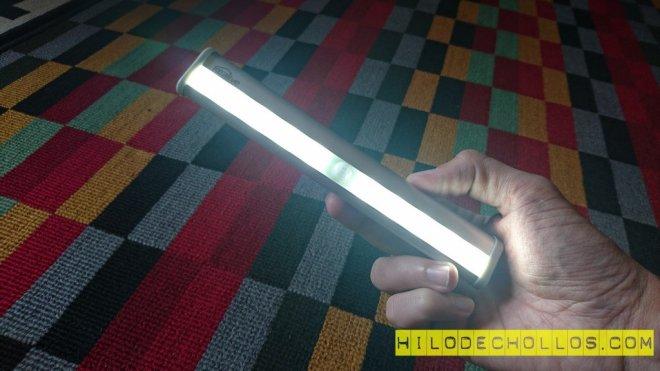 lámpara nocturna con sensor