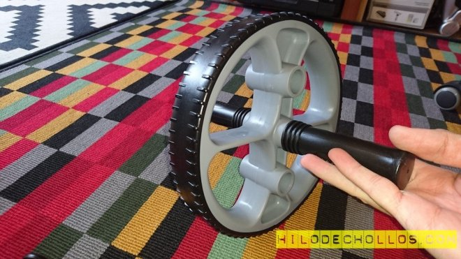 rueda de entrenamiento