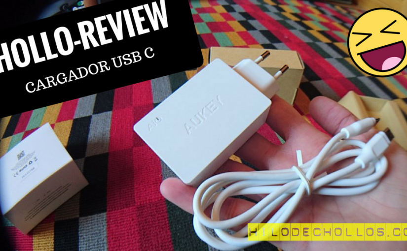 Chollo review Cargador USB C de aukey