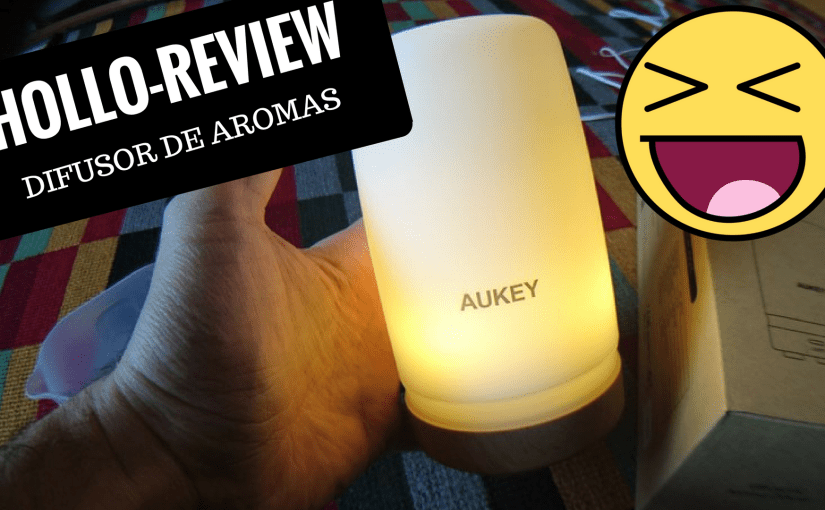 Chollo review Difusor de Aroma 100ML LED Aukey