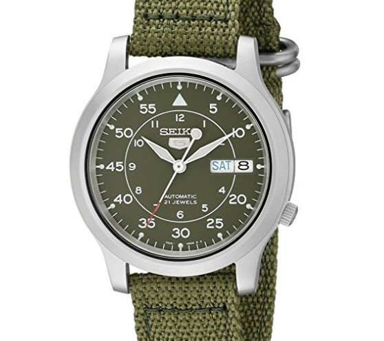 Chollo Reloj Seiko SNK805K2 verde