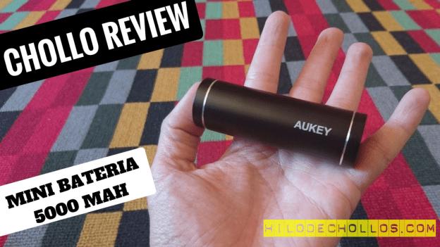 La mejor batería para tus viajes – Aukey 5000 mAh