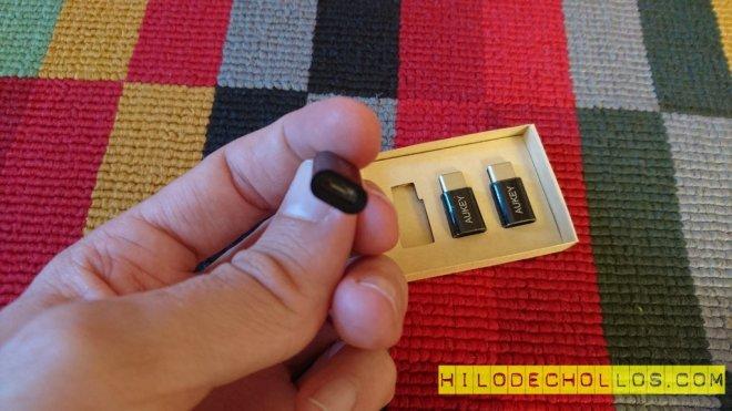 DE MICRO USB A USB C