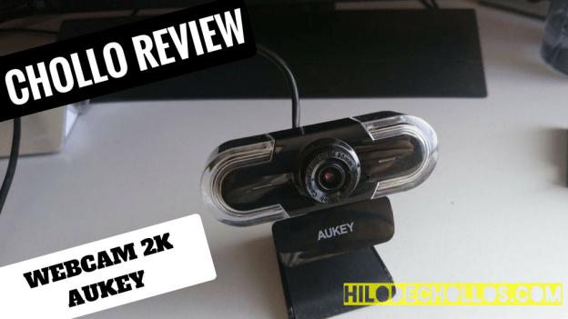 Aquí tenemos la webcam con mayor resolución del momento, 2k de aukey