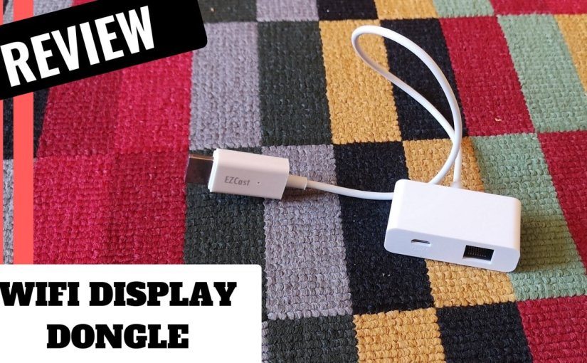 Con este Wifi display dongle vas a convertir tu televisión en SMART TV