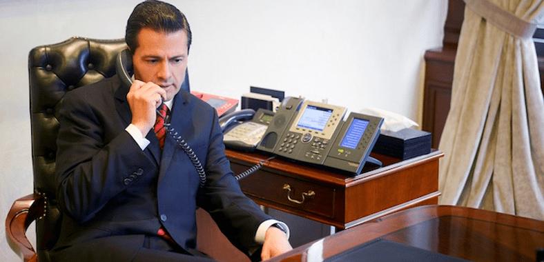 Peña habla con Trump y pactan encuentro para el 31 de enero