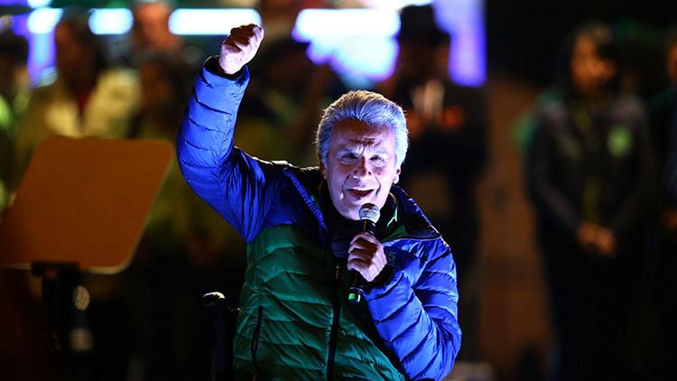 Se va a segunda vuelta elección presidencial en Ecuador