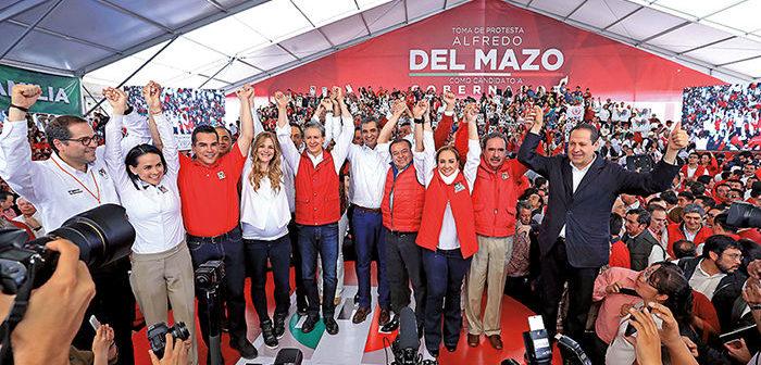 Dinero sucio de OHL, Odebrecht e Higa, a la campaña de Del Mazo