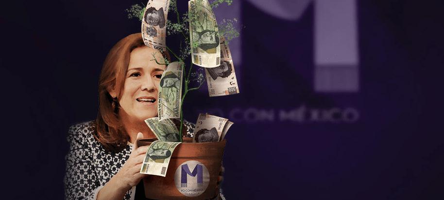 TEPJF multiplica financiamiento privado a Zavala y beneficia a El Bronco