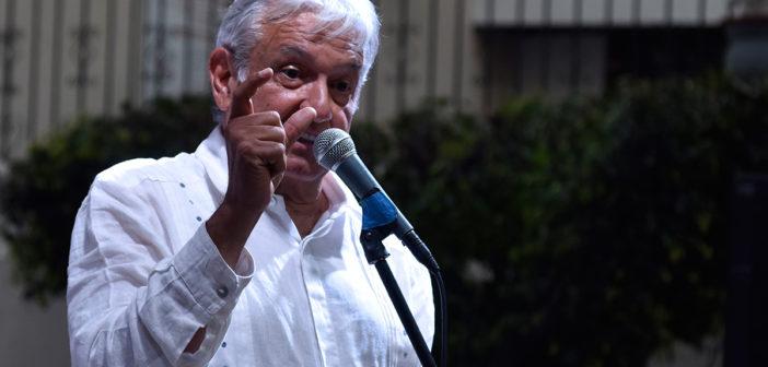 Acusa López Obrador a Peña de operar el fraude en el Edomex
