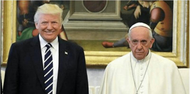 La Red se mofa de la cara del Papa en encuentro con Trump (MEMES)