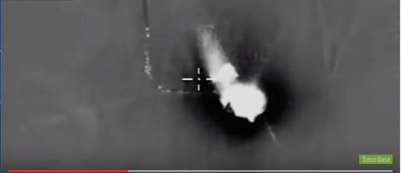 Rusia liquida a 120 terroristas de ISIS rumbo a Palmira (VIDEO)