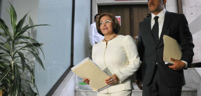 Congreso de Veracruz retira el fuero a Eva Cadena (VIDEO)