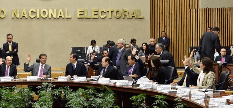 El INE aprueba gasto histórico de 6 mil 788 mdp para partidos en 2018