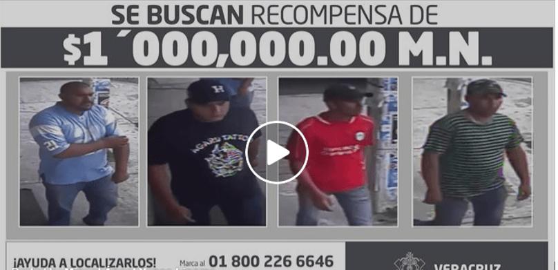 Captan en VIDEO a los ejecutores del jefe de la PF en Veracruz