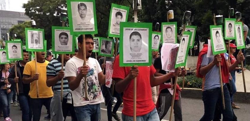 Normalistas de Ayotzinapa escalarán protestas si no hay avances en caso de los 43