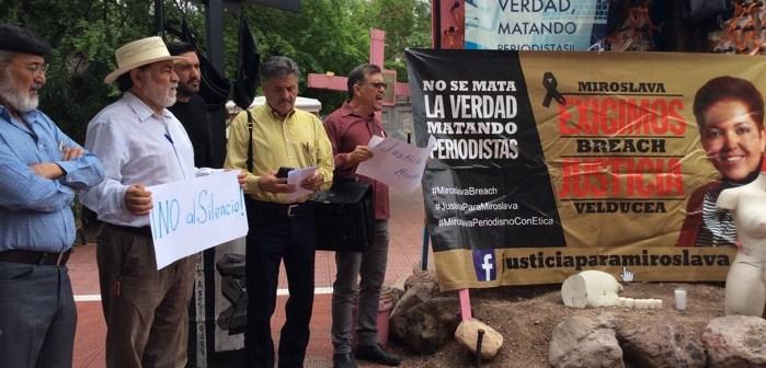 A 4 meses, exigen justicia para Miroslava en Chihuahua