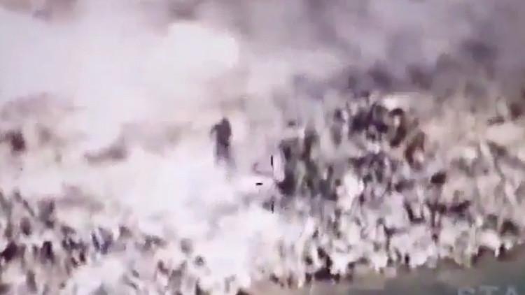 VIDEO muestra lluvia de balas contra ISIS tras liberación de Mosul