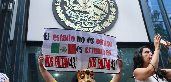 """Ayotzinapa: """"El discurso del Estado mexicano choca con la realidad"""""""