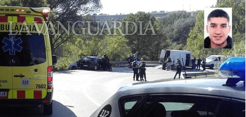 Abaten al autor del atentado terrorista en Barcelona (VIDEOS)