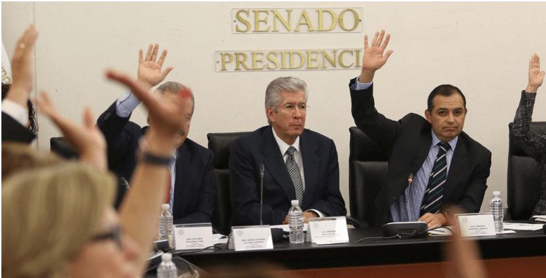 """""""No renuncio"""", responde Ruiz Esparza a reclamos en el Senado"""