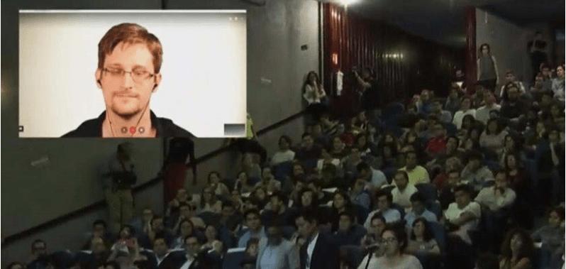 Snowden advierte de ataques cibernéticos en elecciones de 2018