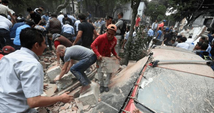 Suman 248 los muertos por el sismo de México (VIDEOS)