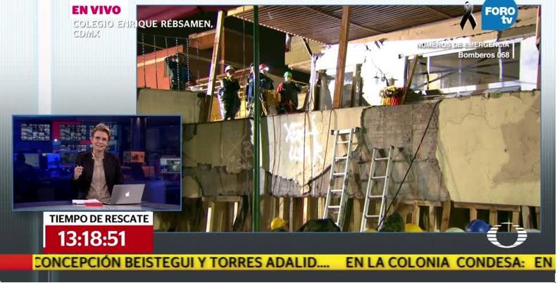 Frida Sofía, la niña estrella del sismo en Televisa, no existe (VIDEO)