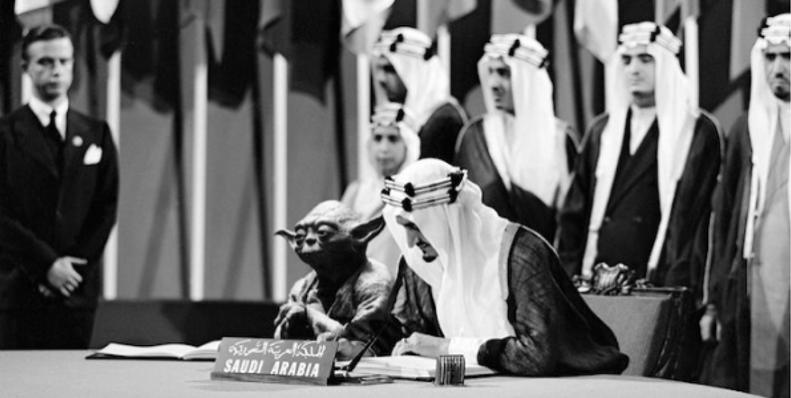¿Por qué aparece Yoda en los libros de texto de Arabia Saudita?
