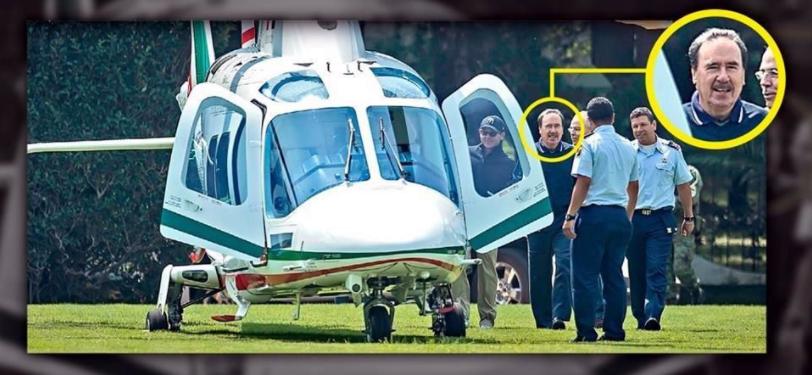 Gamboa confiesa fue en helicóptero oficial a jugar golf con Peña