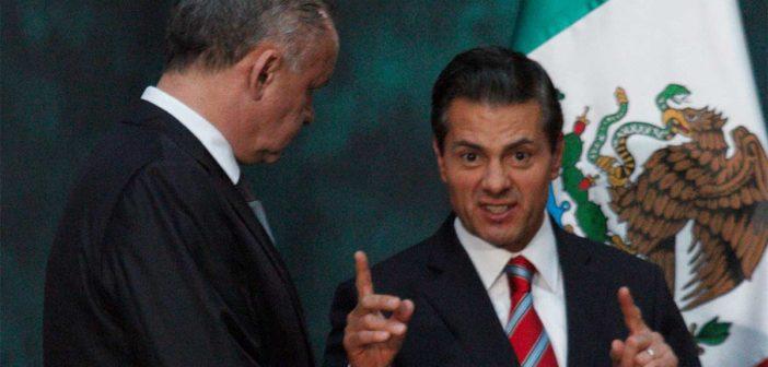 Llama Peña a no despistarse luego que Videgaray destapó a Meade