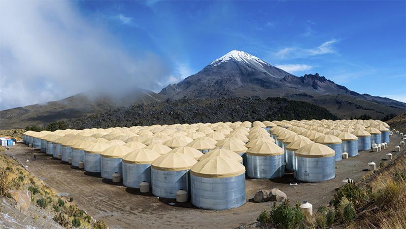 Desde volcán de Puebla detectan el inusual origen de la antimateria