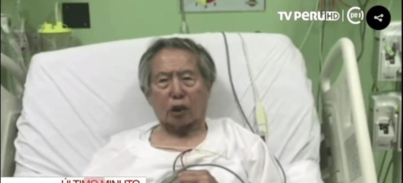 Ordenan regreso de Fujimori al penal