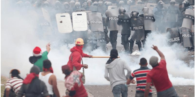 Honduras, a movilización nacional contra el fraude