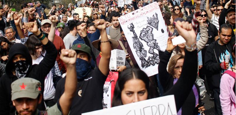 Marchan contra Ley de Seguridad: es un virtual permiso para matar