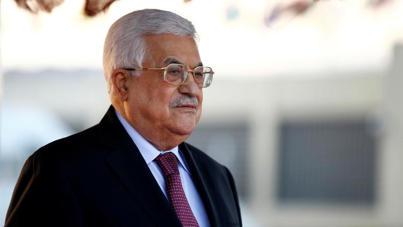 Vuelve al hospital el presidente de Palestina