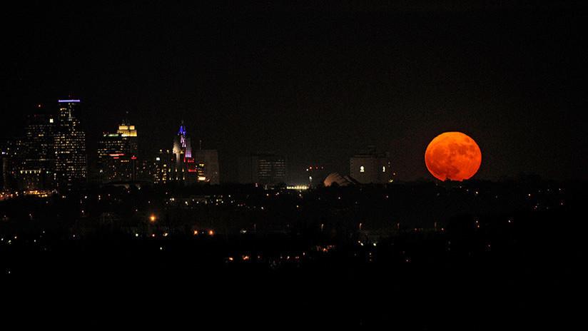 Luna de sangre, luna azul y superluna coincidirán el 31 de enero